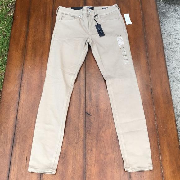 13255b880d487 PacSun Pants | Mens Khaki Stacked Skinny 29x30 | Poshmark